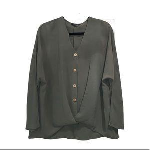 Primary Khaki long sleeves blouse 8 - New